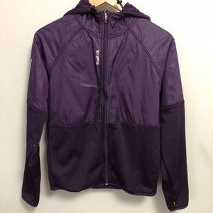 Reebok | Purple Zip Up Hoodie